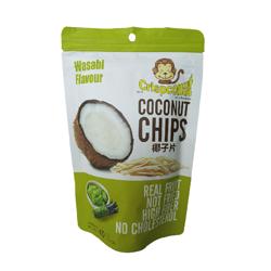 Chipsy kokosowe Wasabi 40 g