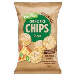 Chipsy kukurydziano-ryżowe - pizza Benlian, 50g