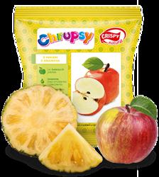 Chipsy z jabłka z sokiem z ananasa Crispy Natural, 18g