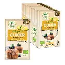 Cukier cytrynowy bio 15 g