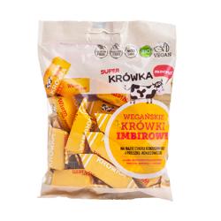 Cukierki krówki imbirowe wegańskie BIO 150 g
