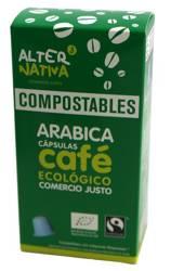 Kawa arabica fair trade BIO 10 kapsułek do nespresso