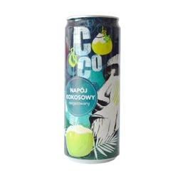 Napój kokosowy niegazowany 99,95% 320 ml