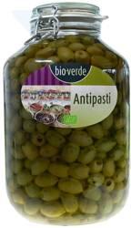 Oliwki zielone bez pestki z ziołami w oleju BIO 4,55 kg (słoik)