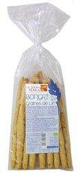 Paluszki chlebowe razowe grissini z siemieniem lnianym BIO 150 g