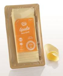 Ser gouda plastry BIO (48 % tłuszczu w suchej masie) 150 g