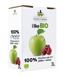 Sok jabłkowo - wiśniowy nfc BIO 3 l