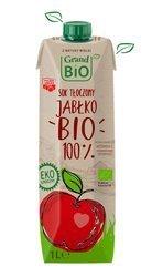 Sok jabłkowy tłoczony 100% NFC BIO 1 l