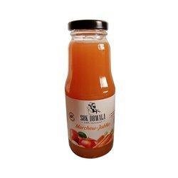 Sok z jabłek i marchewki 100% naturalny tłoczony 300 ml