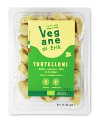 Tortelloni z kaszą jaglaną, szpinakiem, tofu, seitan BIO 250 g