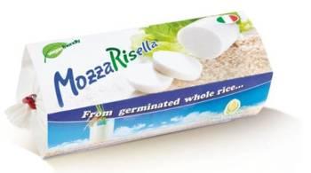 Wegańska mozzarella z ryżu pełnoziarnistego kiełkowanego BIO 200 g