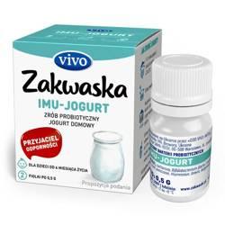 Żywe kultury bakterii do jogurtu imu 1 g (2 fiolki)